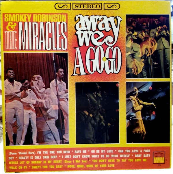 The Miracles Away We a Go-Go cover art