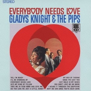 Gladys Knight & The Pips Everybody Needs Love Cover Art