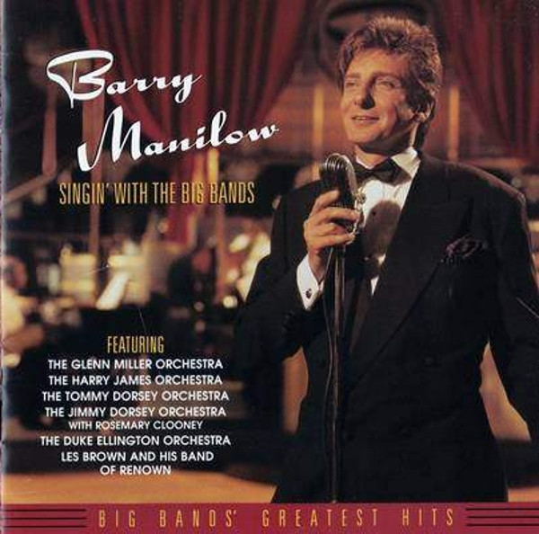 Barry Manilow Singin' With the Big Bands cover art