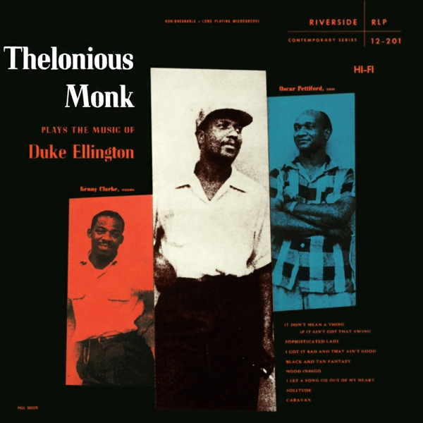 Thelonious Monk Thelonious Monk Plays Duke Ellington cover art