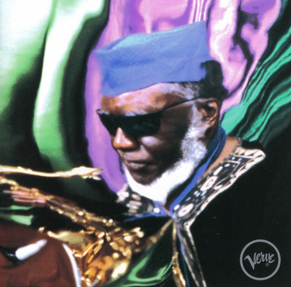 Pharoah Sanders Message From Home Cover Art