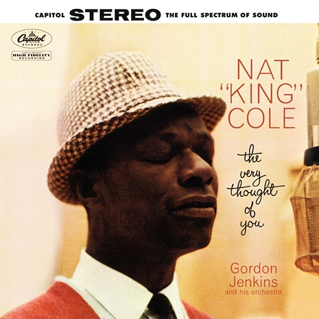 Nat King Cole The Very Thought of You cover art