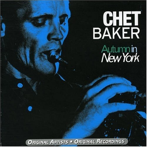 Chet Baker Autumn in New York Cover Art