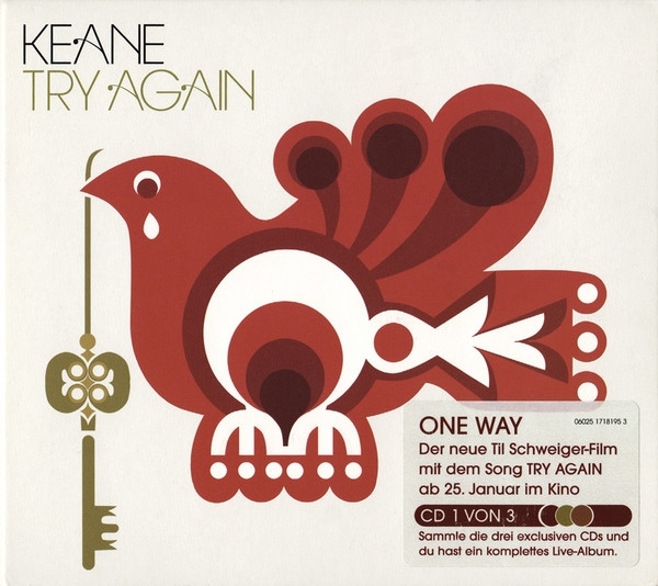 Keane Try Again Cover Art