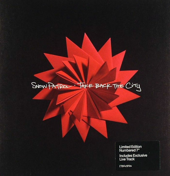 Snow Patrol Take Back the City Cover Art