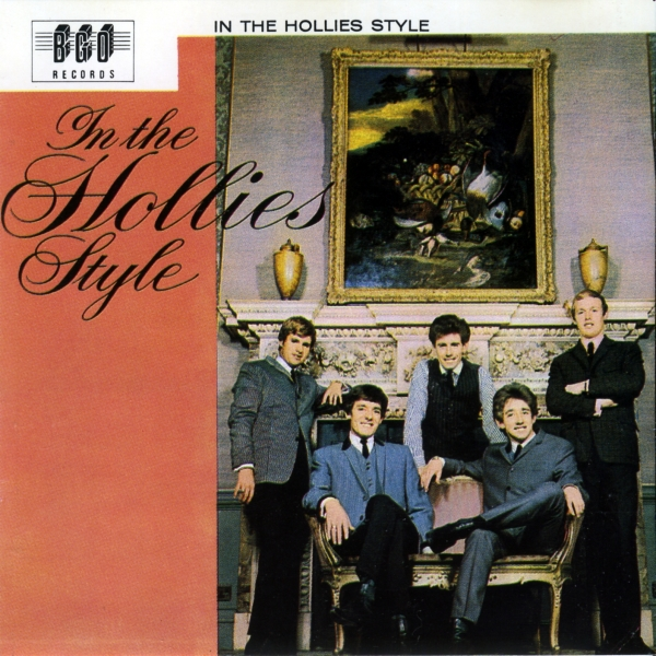 The Hollies In the Hollies Style cover art