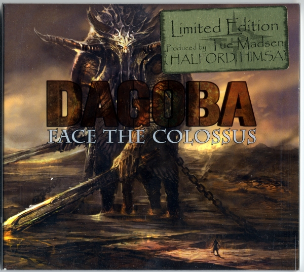 Dagoba Face the Colossus cover art