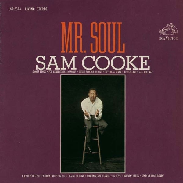 Sam Cooke Mr. Soul cover art