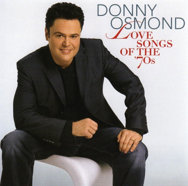 Donny Osmond Love Songs of the '70s cover art