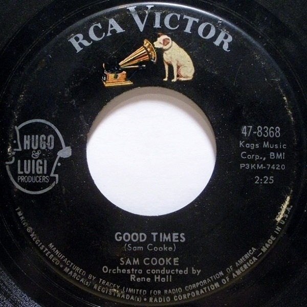 Sam Cooke Good Times Cover Art
