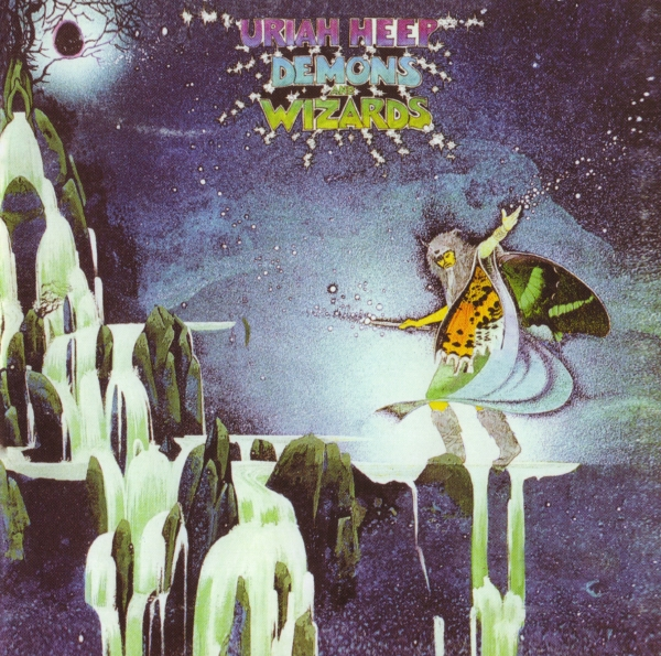Uriah Heep Demons and Wizards cover art