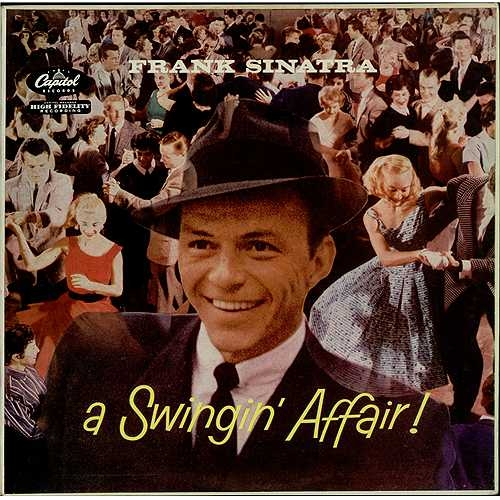 Frank Sinatra A Swingin' Affair! cover art