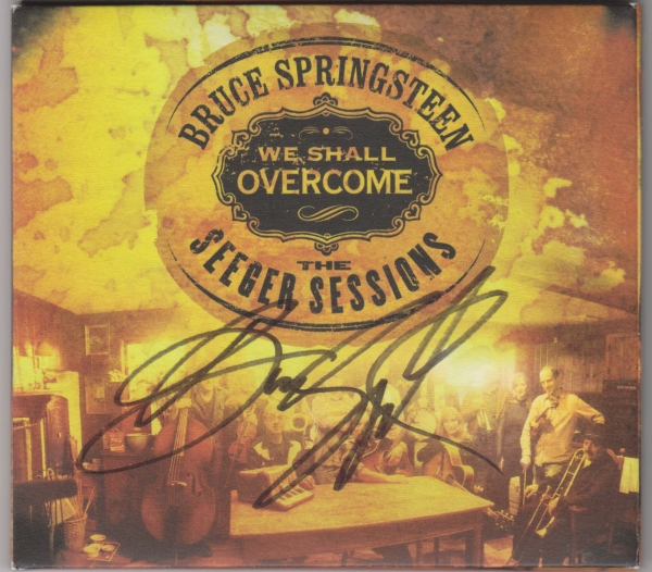 Bruce Springsteen We Shall Overcome: The Seeger Sessions cover art