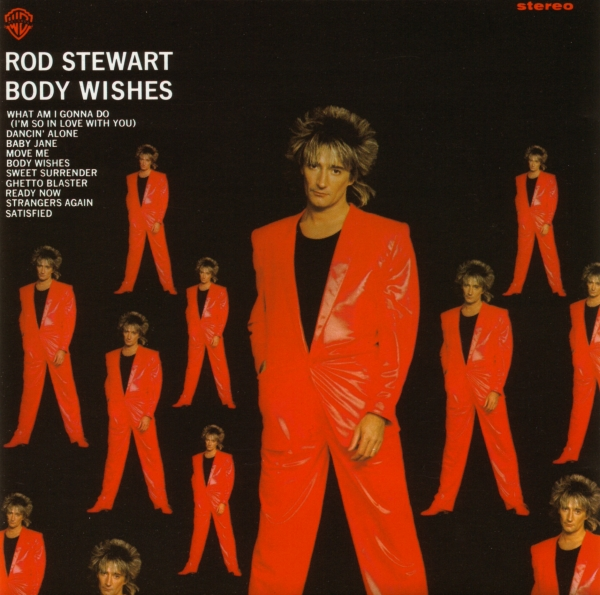 Rod Stewart Body Wishes cover art