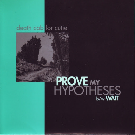 Death Cab for Cutie Prove My Hypotheses Cover Art