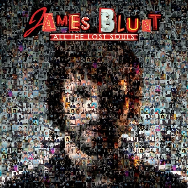 James Blunt All the Lost Souls Cover Art
