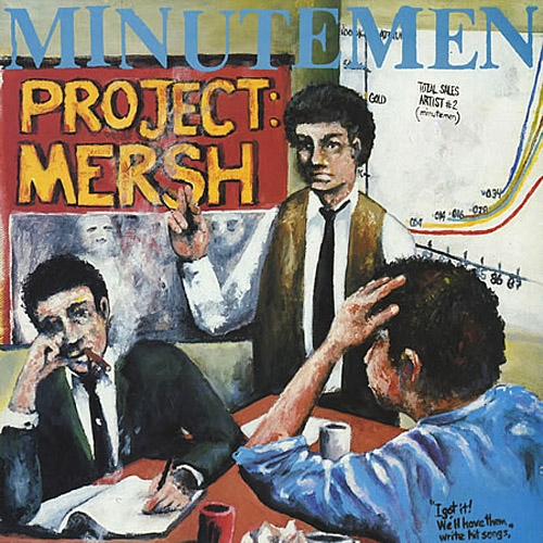 Minutemen Project: Mersh Cover Art