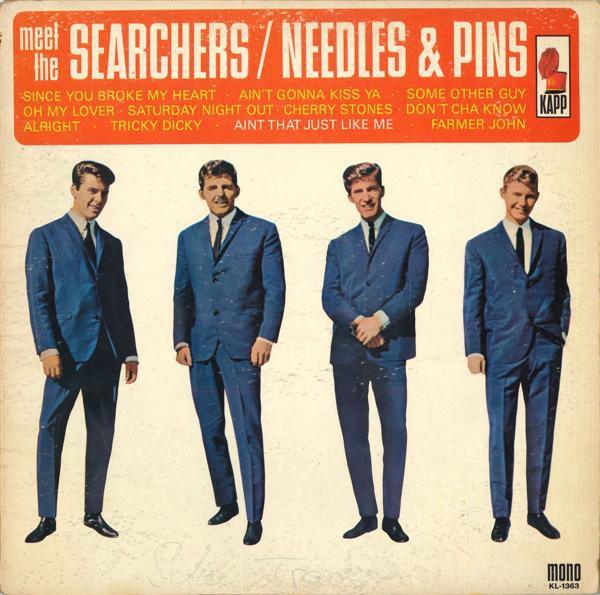 The Searchers Meet the Searchers cover art