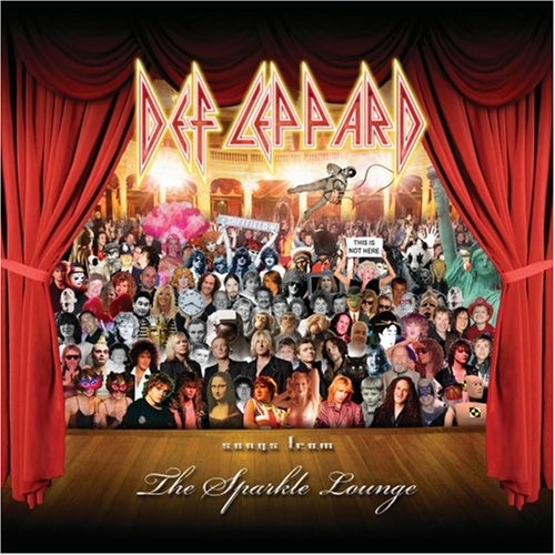 Def Leppard Songs From the Sparkle Lounge cover art