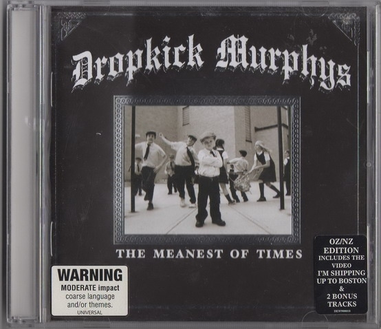 Dropkick Murphys The Meanest of Times cover art