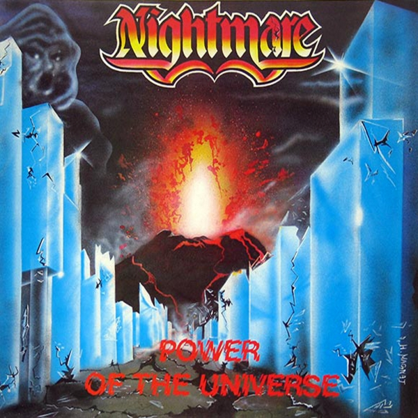 Nightmare Power of the Universe Cover Art