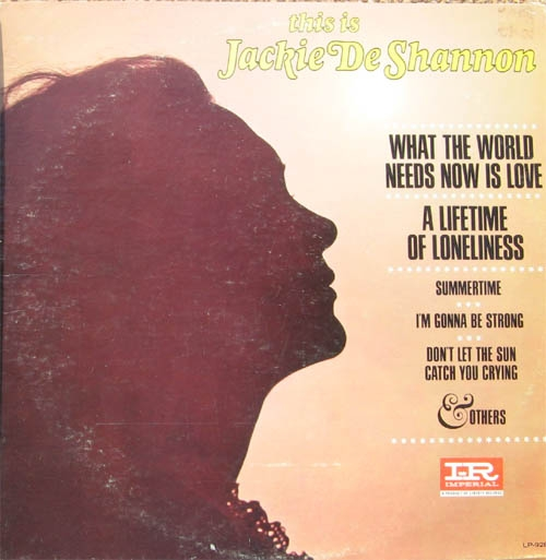 Jackie DeShannon This Is Jackie De Shannon cover art