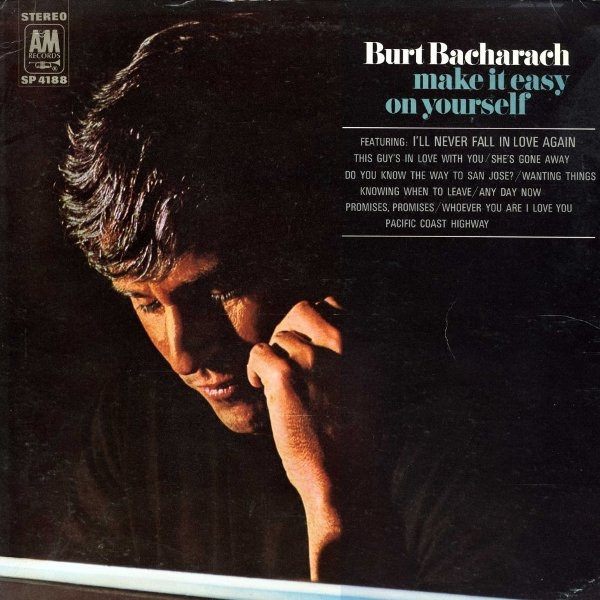 Burt Bacharach Make It Easy on Yourself cover art