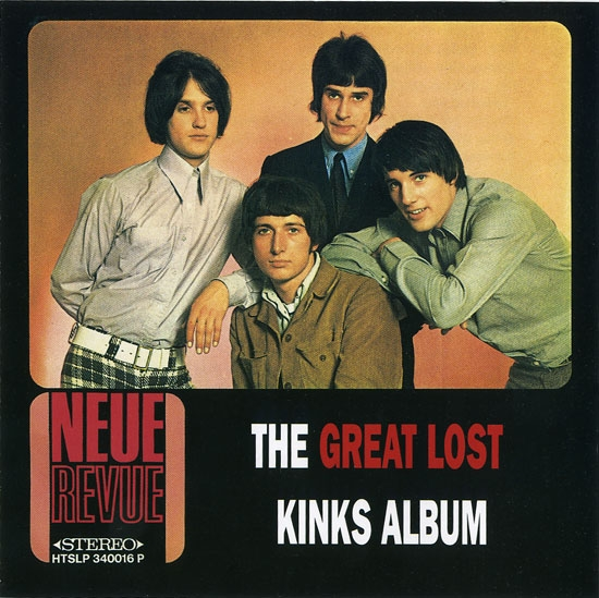 The Kinks The Great Lost Kinks Album cover art