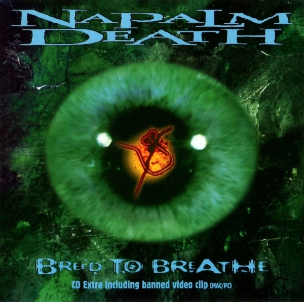 Napalm Death Breed to Breathe cover art