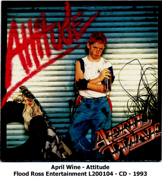 April Wine Attitude cover art