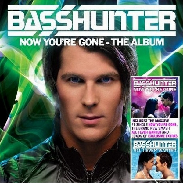 Basshunter Now You're Gone: The Album cover art