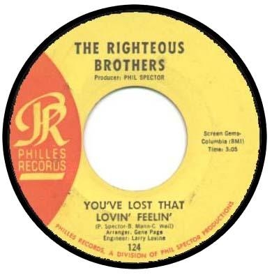The Righteous Brothers You've Lost That Lovin' Feelin' / There's a Woman Cover Art