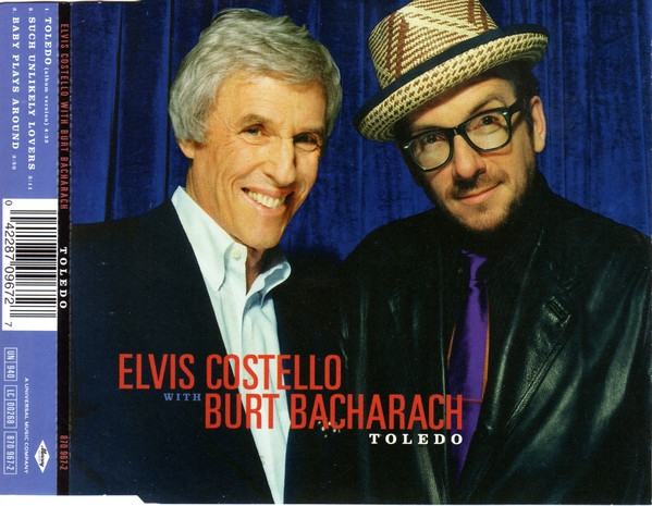 Elvis Costello with Burt Bacharach Toledo Cover Art