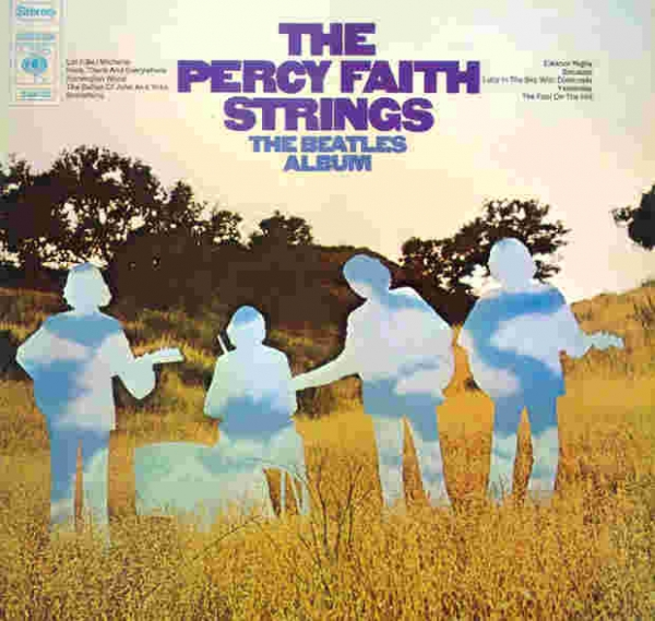 Percy Faith The Beatles Album cover art