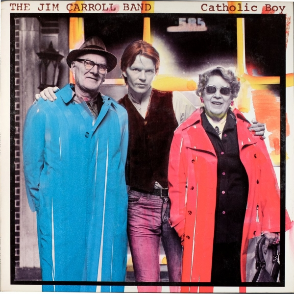 The Jim Carroll Band Catholic Boy cover art
