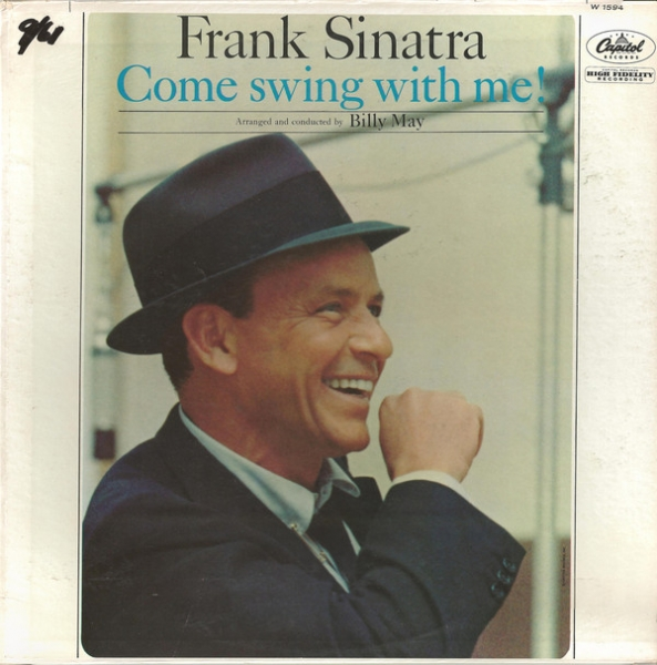 Frank Sinatra Come Swing With Me! cover art
