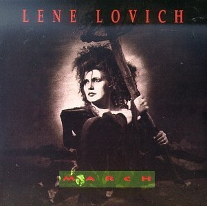 Lene Lovich March cover art