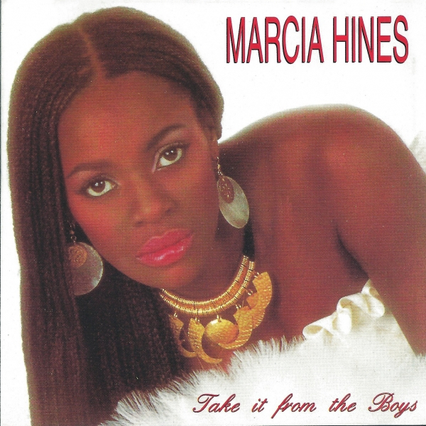 Marcia Hines Take It From the Boys cover art