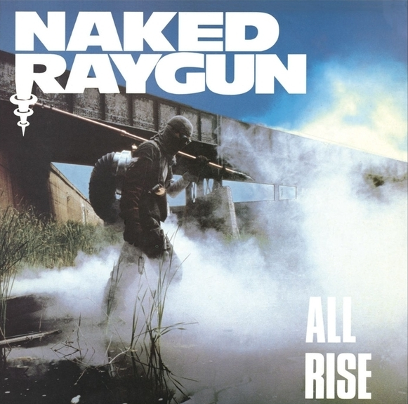 Naked Raygun All Rise Cover Art