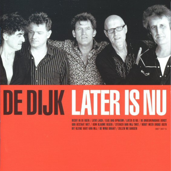 De Dijk Later is nu cover art