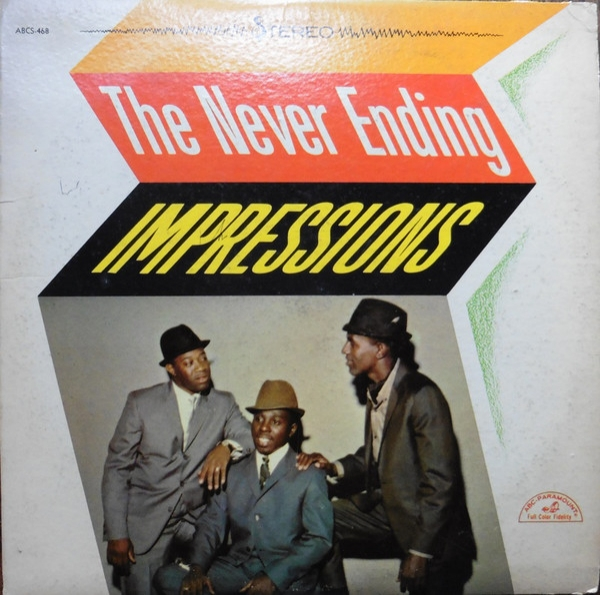 The Impressions The Never Ending Impressions Cover Art