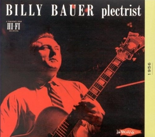 Billy Bauer Plectrist cover art