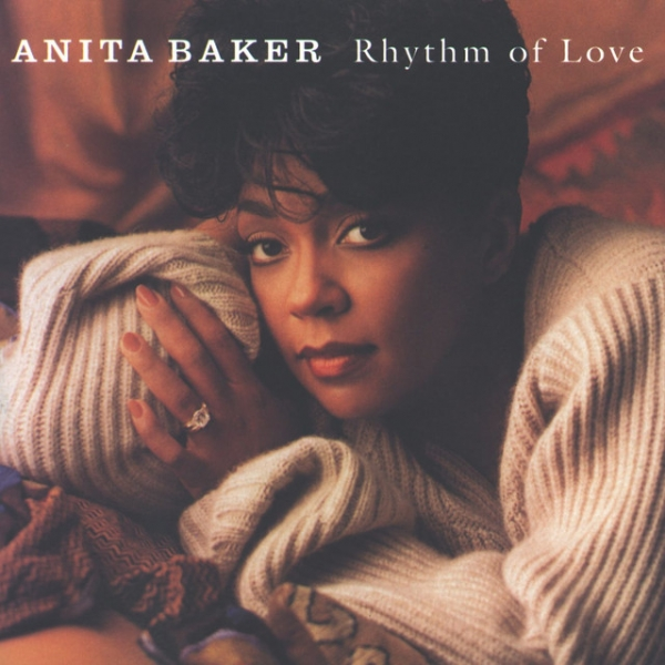 Anita Baker Rhythm of Love cover art