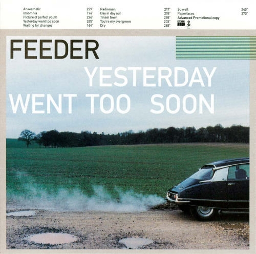 Feeder Yesterday Went Too Soon cover art