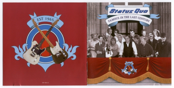 Status Quo Famous in the Last Century cover art