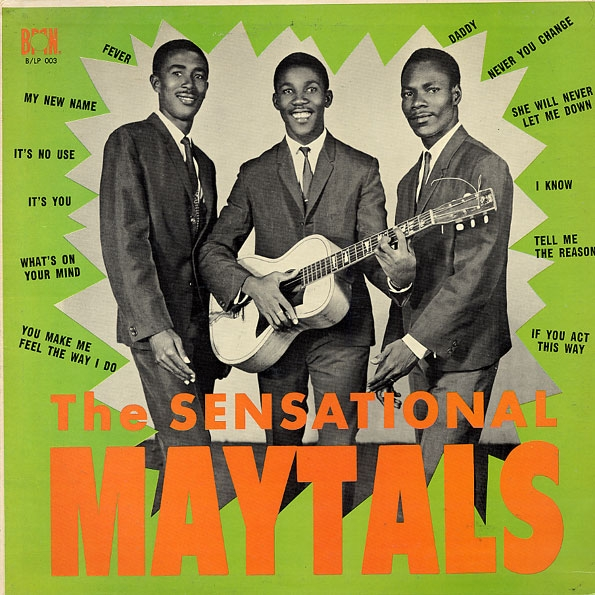 Toots & The Maytals The Sensational Maytals cover art