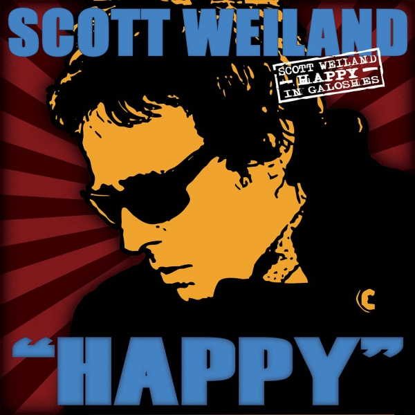 Scott Weiland Happy in Galoshes cover art