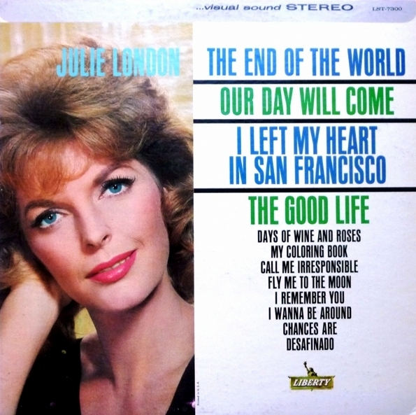 Julie London The End of the World cover art