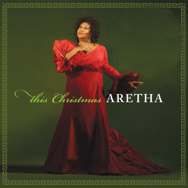Aretha Franklin This Christmas cover art