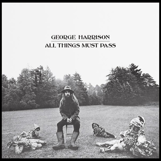 George Harrison All Things Must Pass cover art